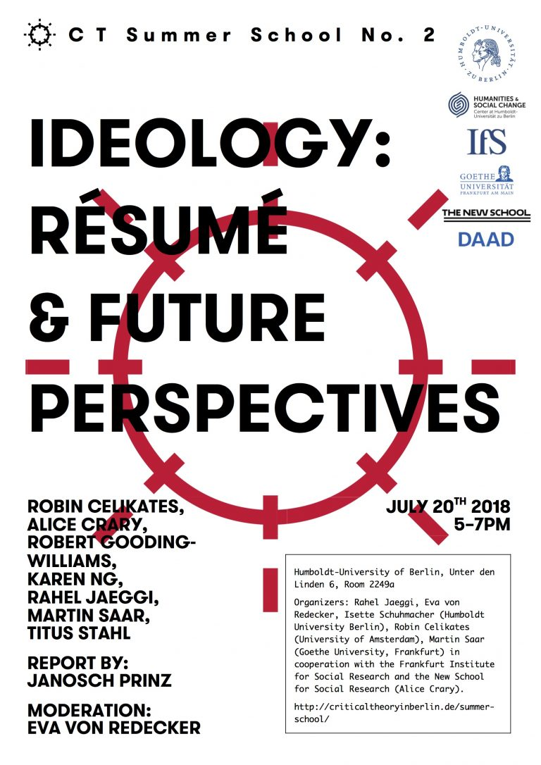 Ideology: Résumé & Future Perspectives