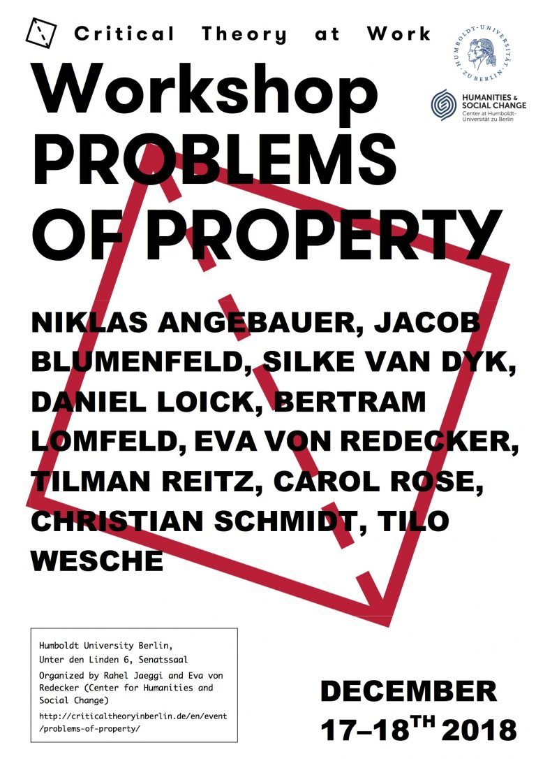 Problems of Property