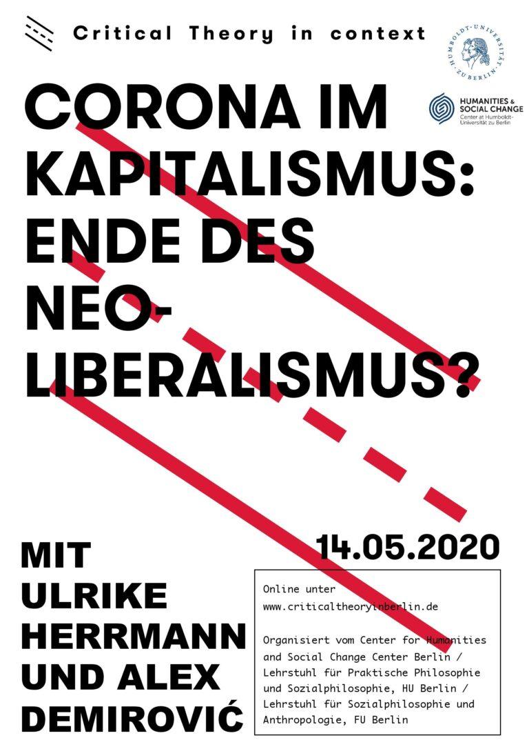 Corona im Kapitalismus: Ende des Neoliberalismus?