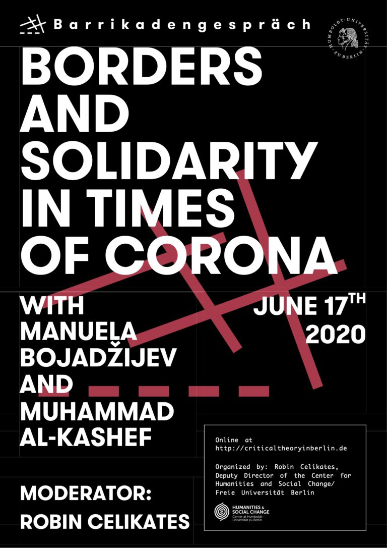 Borders and Solidarity in Times of Corona