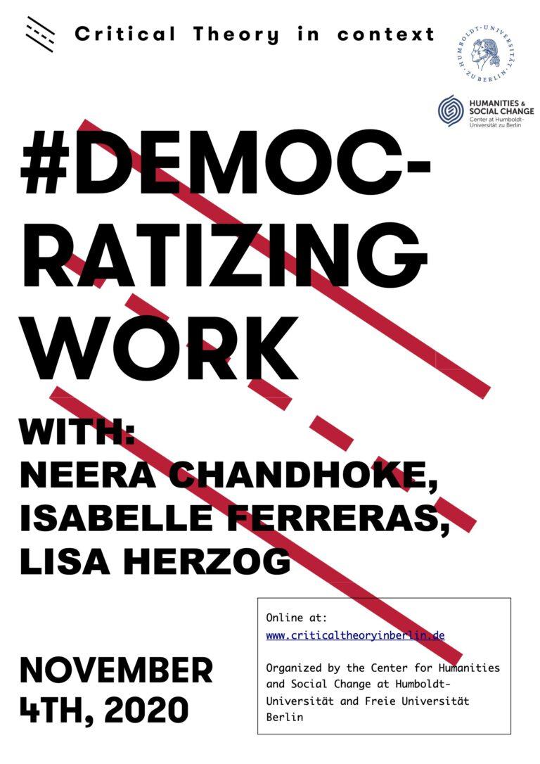 #DemocratizingWork