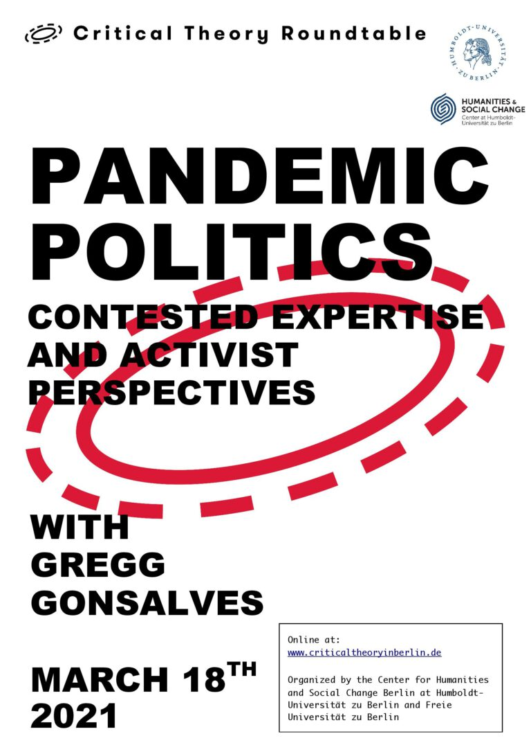 Pandemic Politics: Contested Expertise and Activist Perspectives