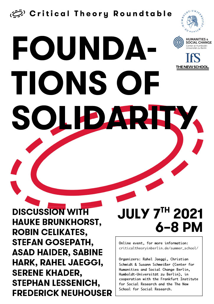 Foundations of Solidarity